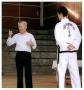 Master Rhee assisting General Choi
