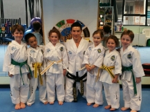 Master Rhee with some of his younger ITFA students