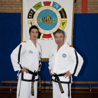 Master Rhee & his Father, FGMR