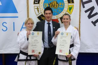 Newly promoted ITFA III Dans